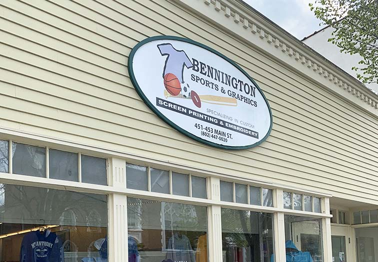bennington sports apparel sourvenir shopping