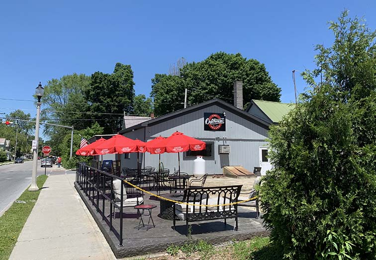 bennington restaurant outdoor dining