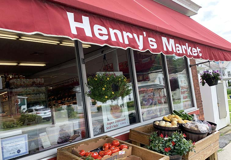 meat market bennington vermont veggie stand