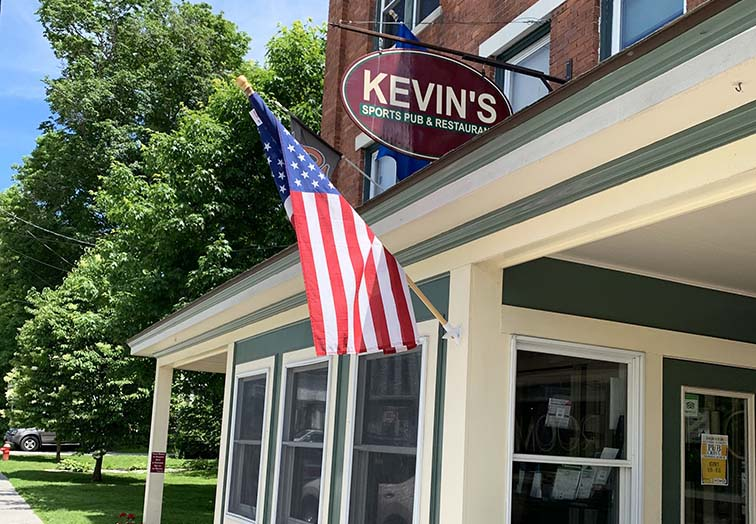 kevins bennington restaurant sports bar