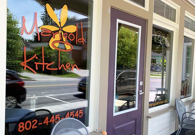 bennington pizza restaurant marigolds exterior