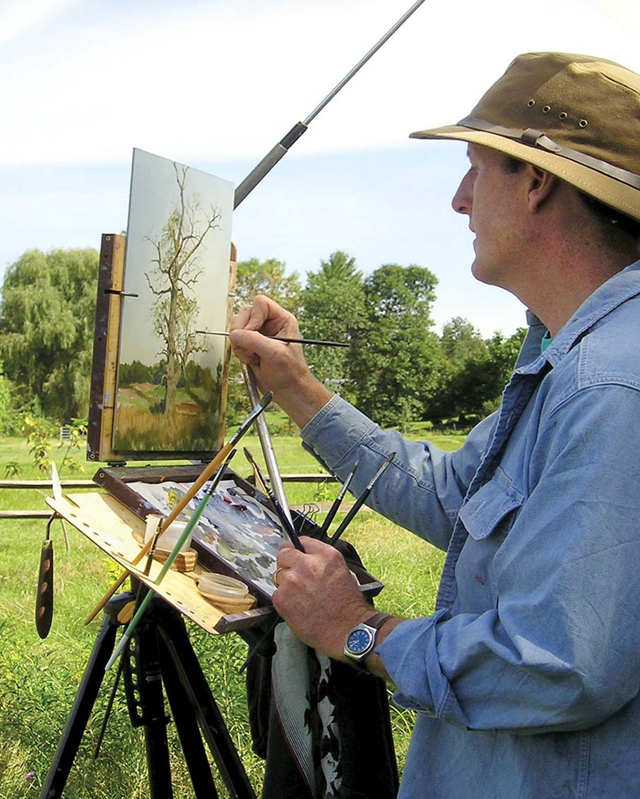 plein air artist bennington vermont arts community