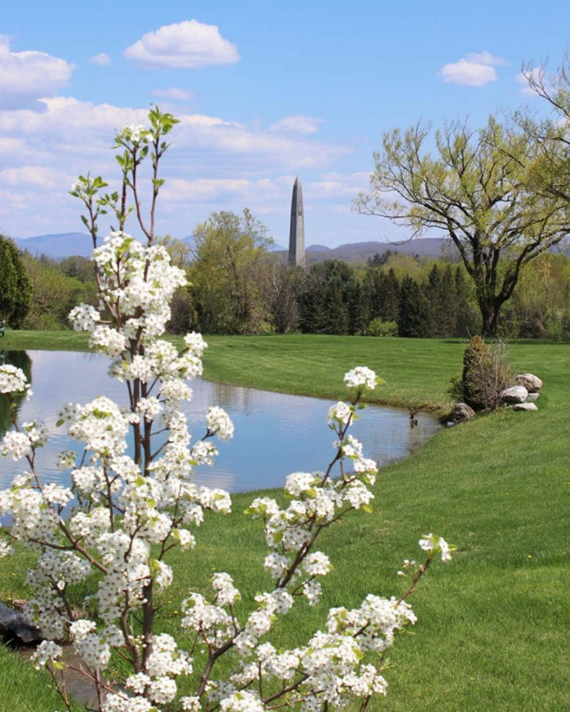 scenic drive bennington vermont monument view