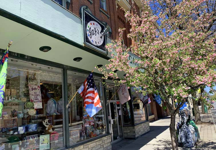 shopping downtown bennington jays art shop