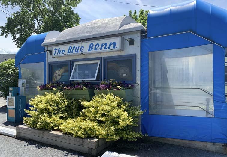 blue benn iconic diner bennington vermont