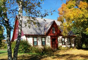 The Robert Frost Stone House Museum in Shaftsbury, VT