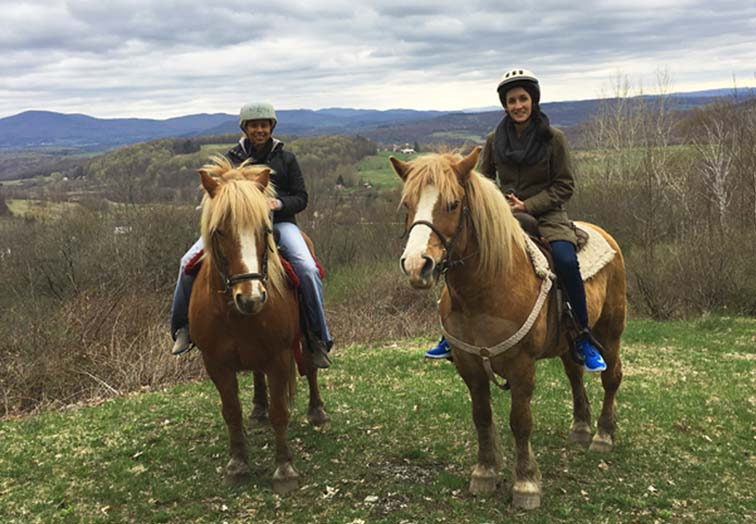 things to do recreation horseback riding vermont