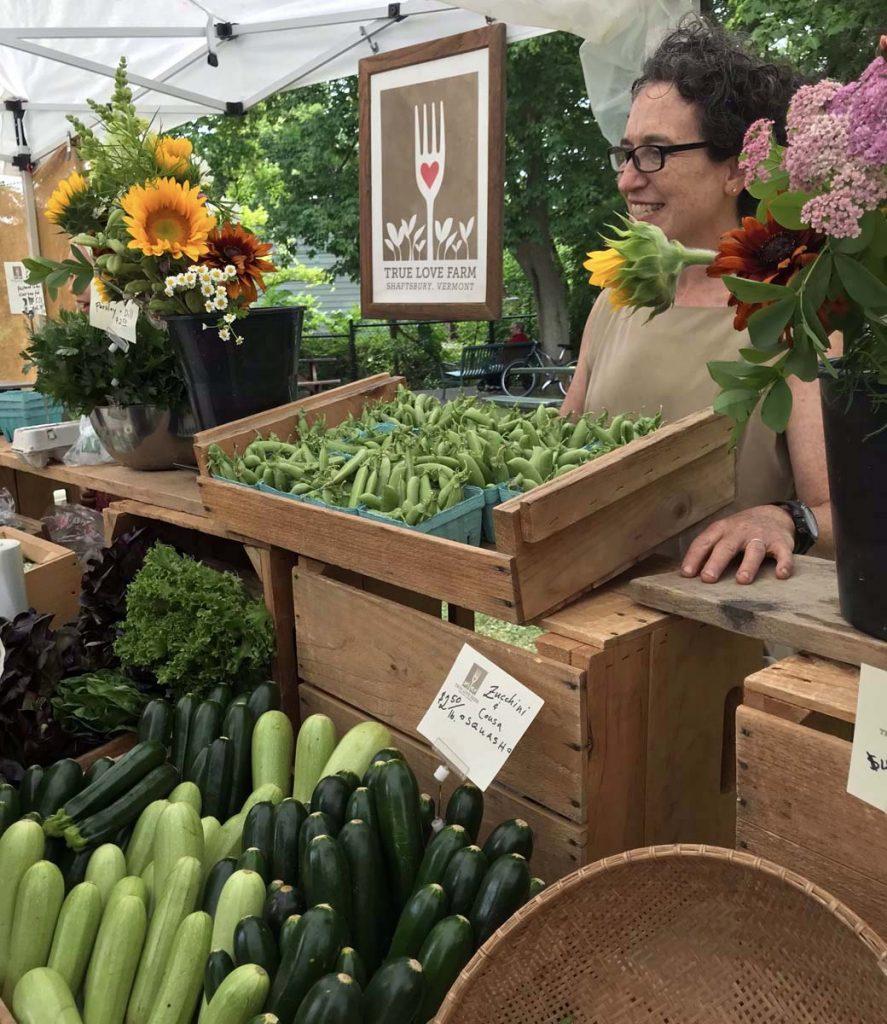 bennington farmers market organic veggie vendor
