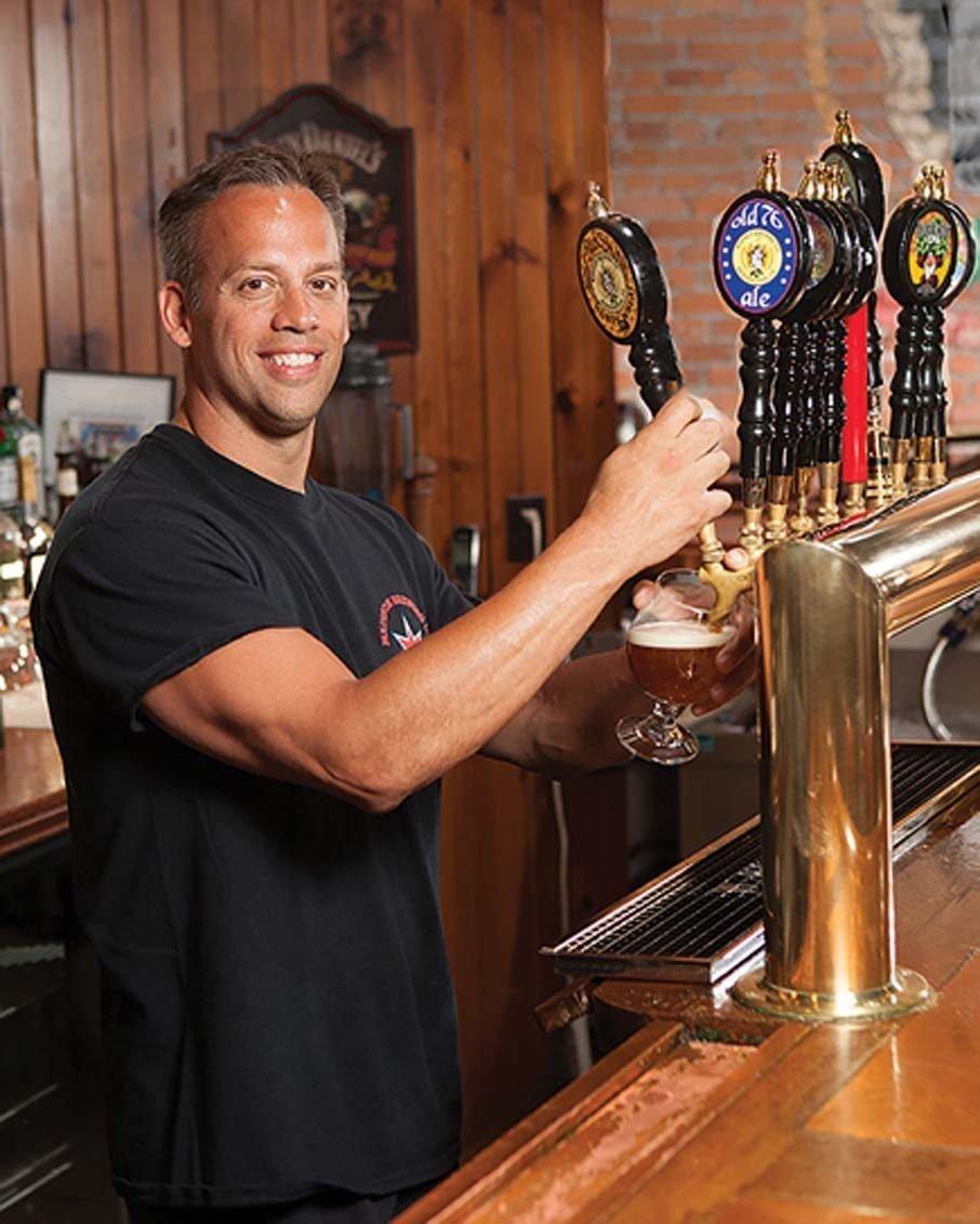 bennington micro brew pub taps madisons