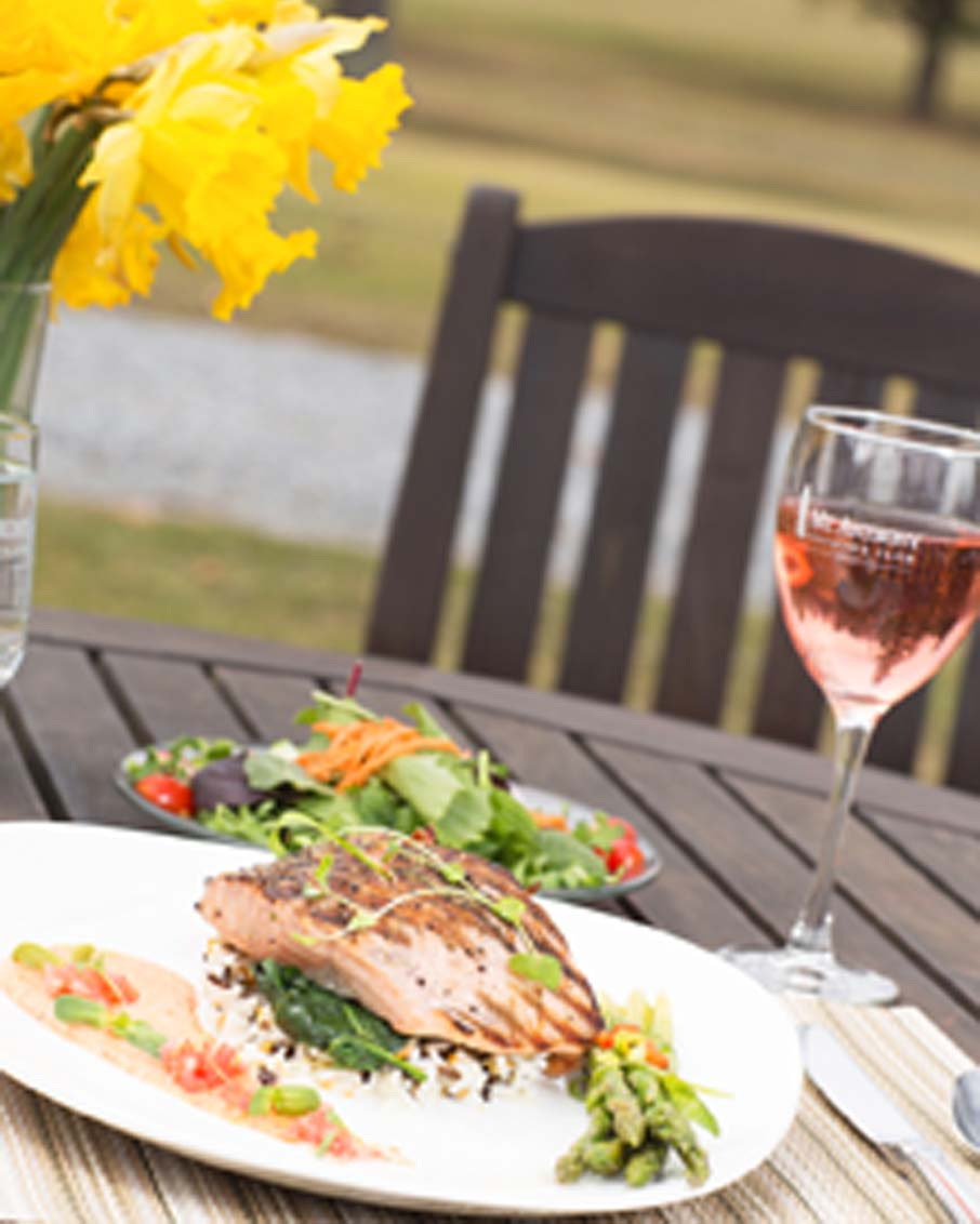 outdoor dining bennington restaurant macc grille