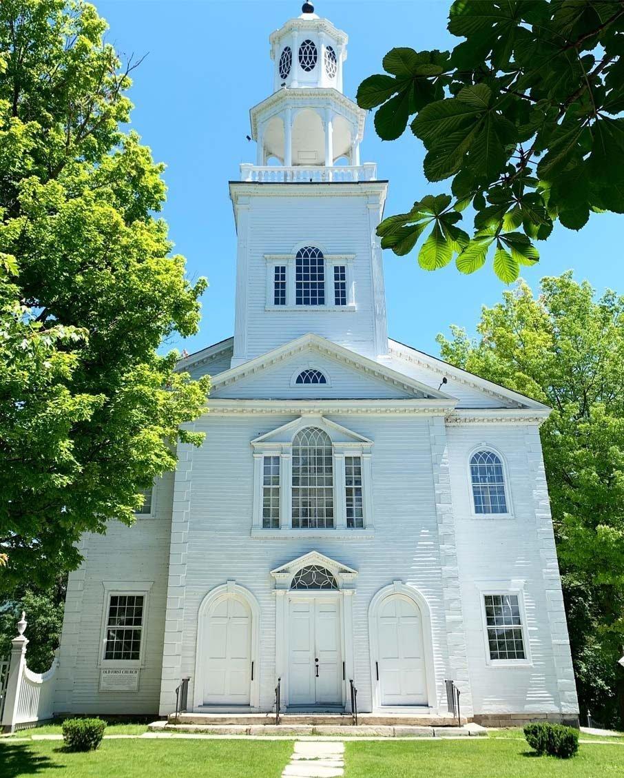 place of worship bennington first church vermont
