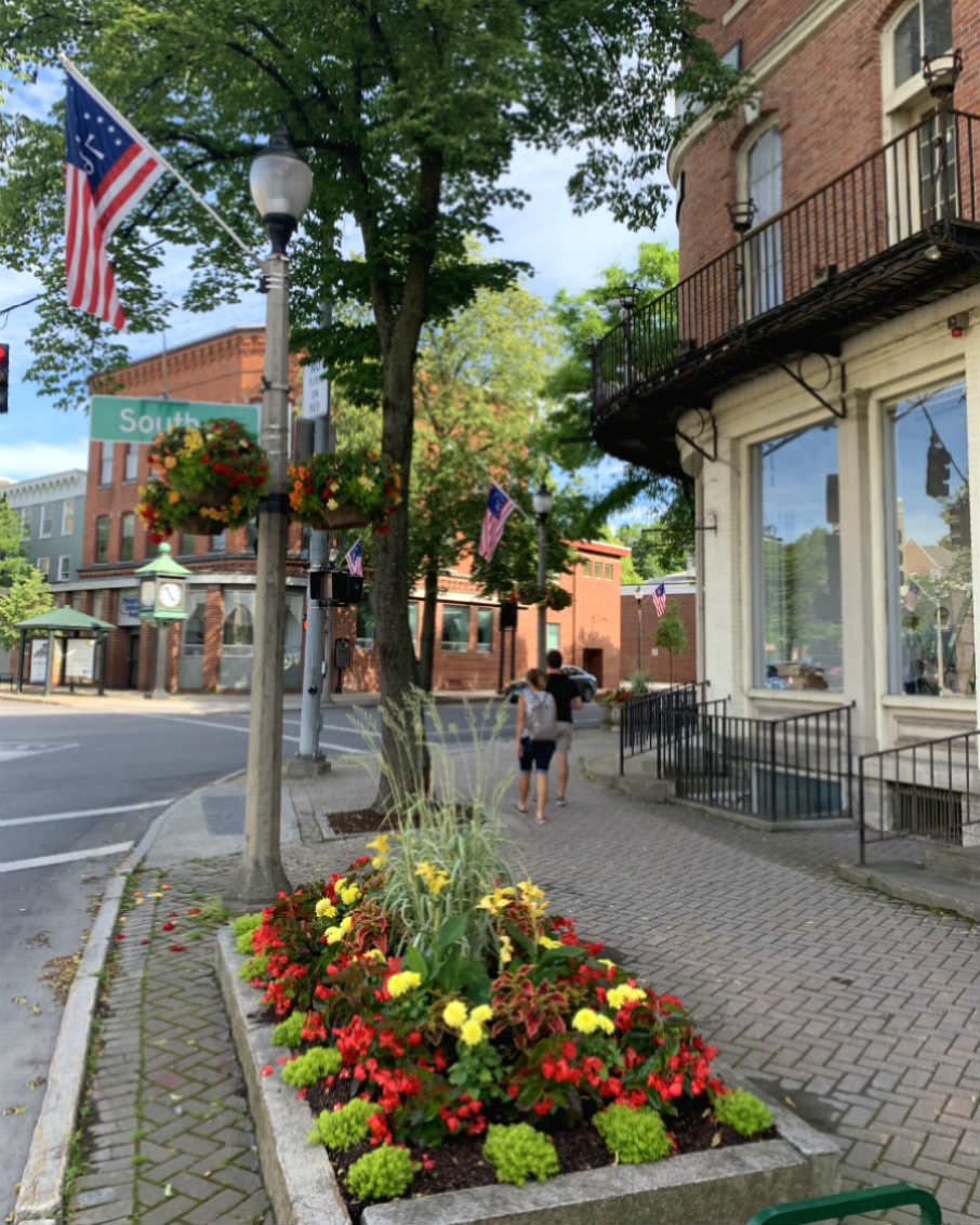 bennington vermont downtown streetscape
