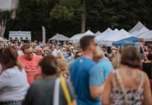 bennington vermont event garlic festival crowds
