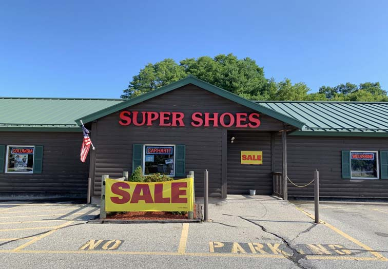 bennington shopping super shoes store