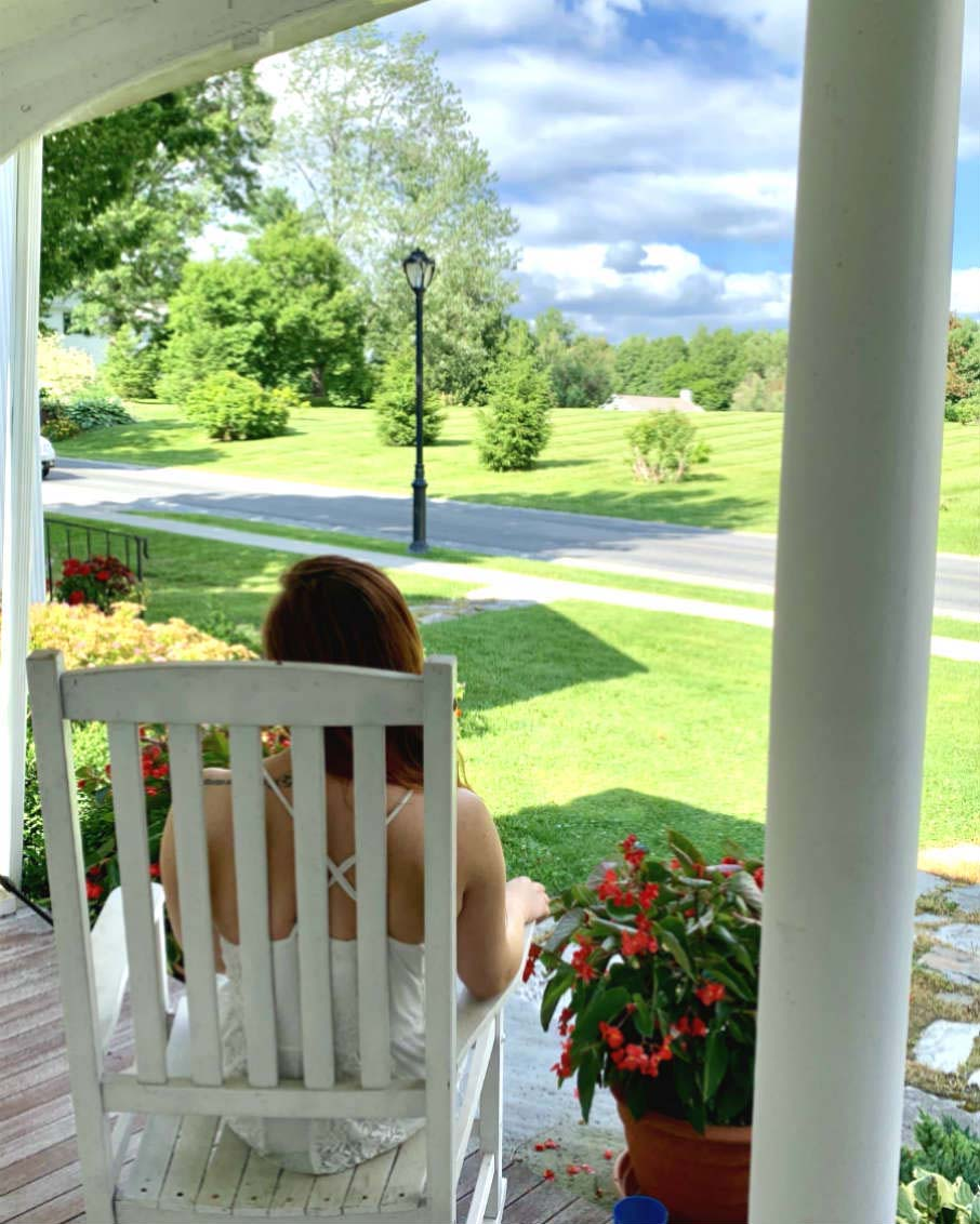vermont lifestyle front porch views bennington