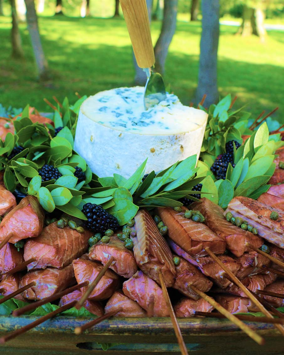 gourmet vermont catering thyme tables