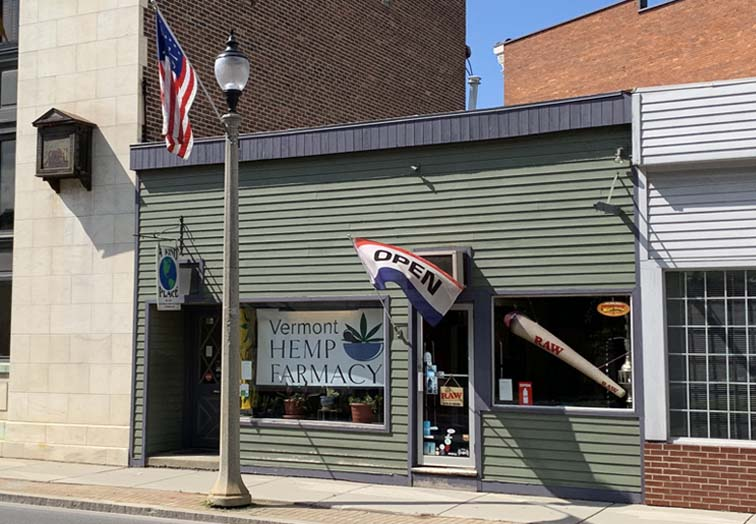 vermont hemp farmacy shop exterior bennington