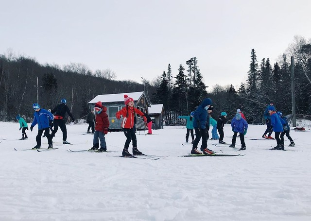 The Bill Koch Youth Ski League at Prospect Mountain in Woodford.