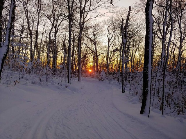 Sunrise at Prospect Mountain in Woodford, Vermont