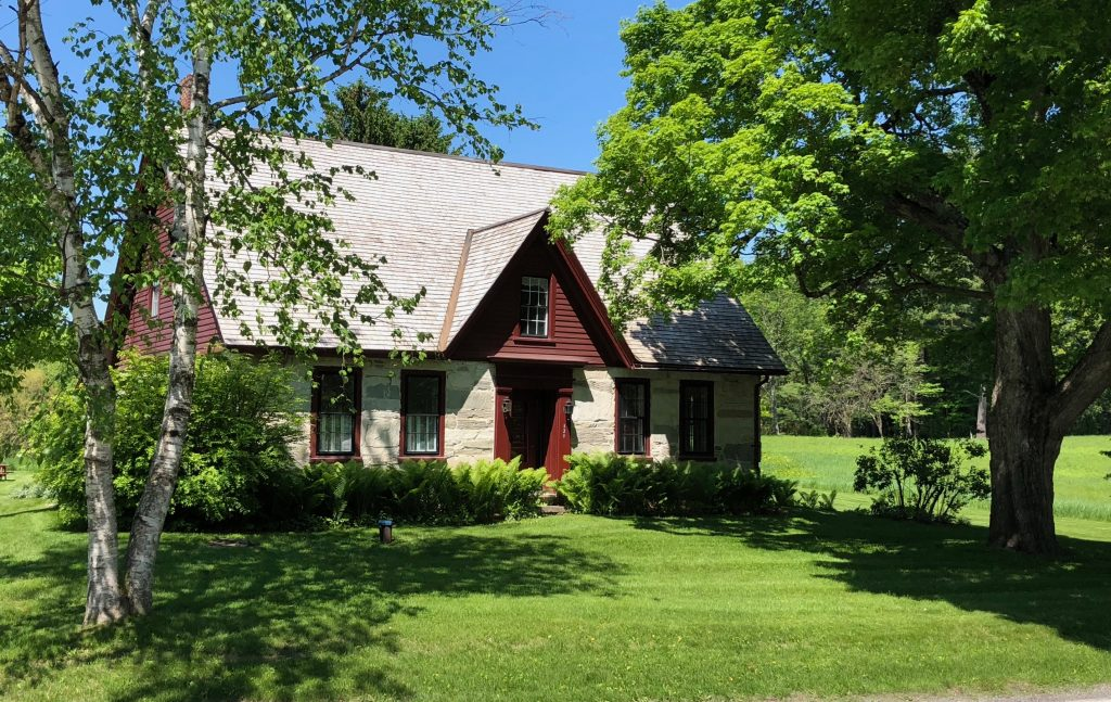 The Robert Frost Stone House Museum in Shaftsbury, VT.