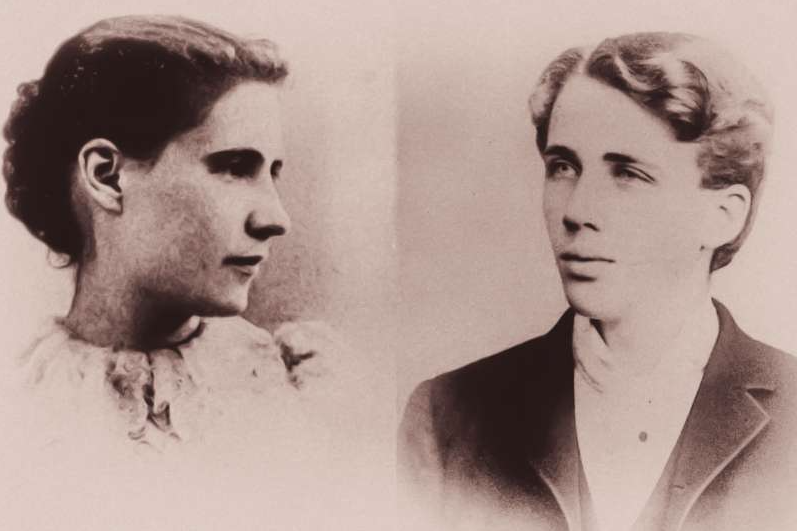 Elinor and Robert Frost