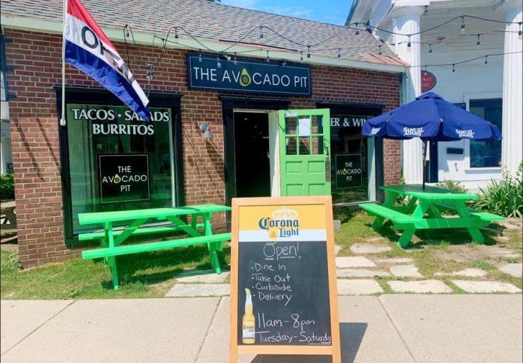 The Avocado Pit restaurant downtown Bennington, Vermont