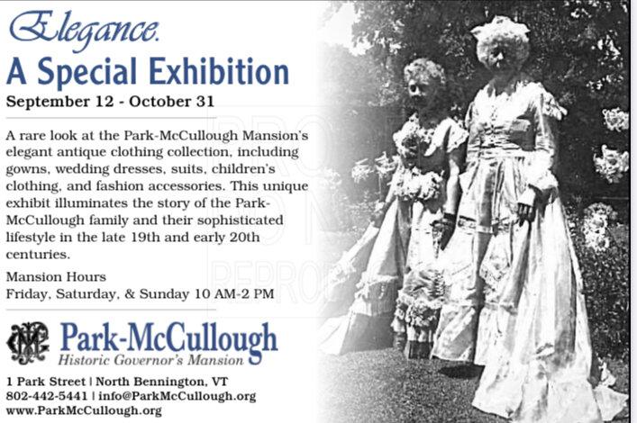 Park McCullough Historic Mansion Special Exhibit North Bennington Vermont