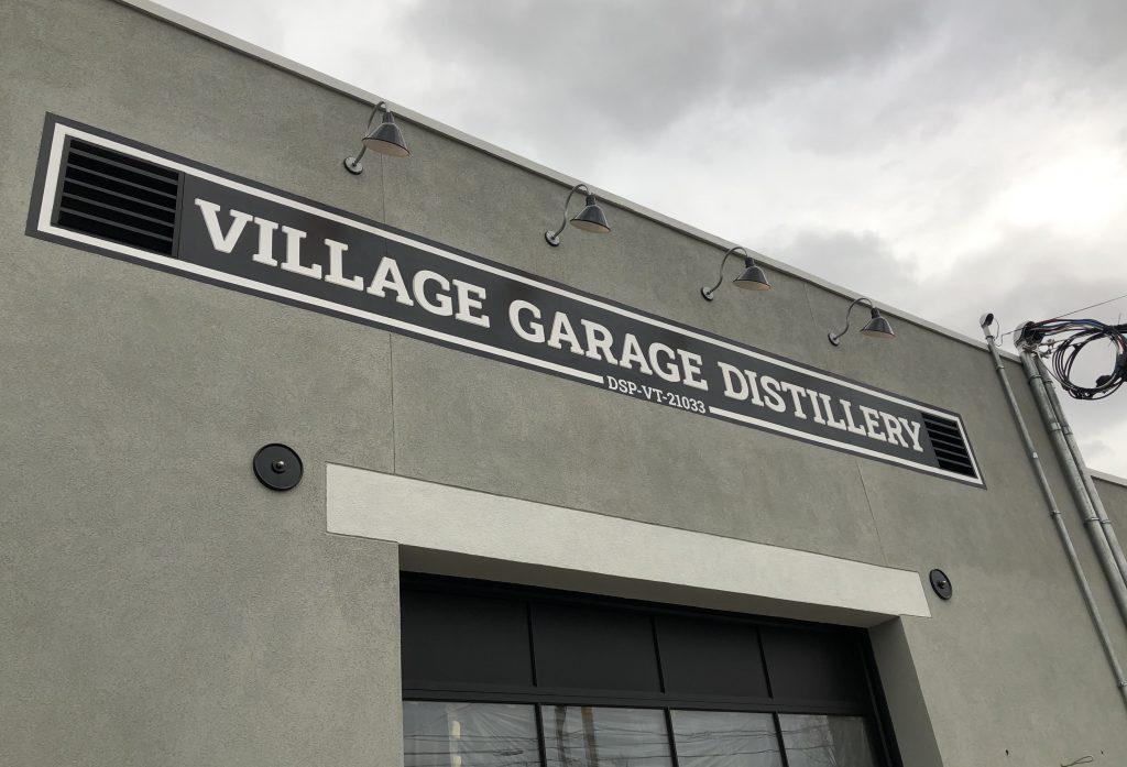 The Village Garage Distillery in Bennington, Vermont.