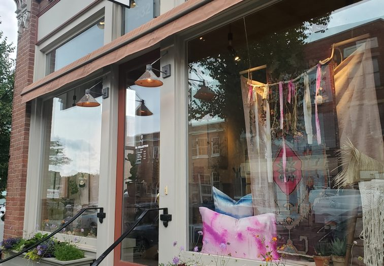 storefront: w collective a new vintage clothing store in bennington vt